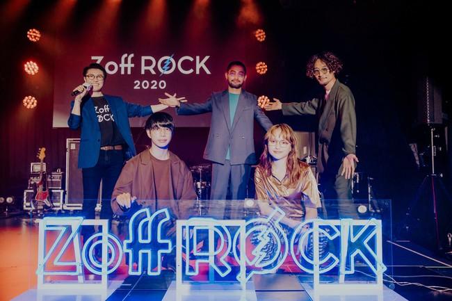 Zoff史上初の無観客配信ライブ「Zoff Rock 2020 HOME SESSION」を開催!