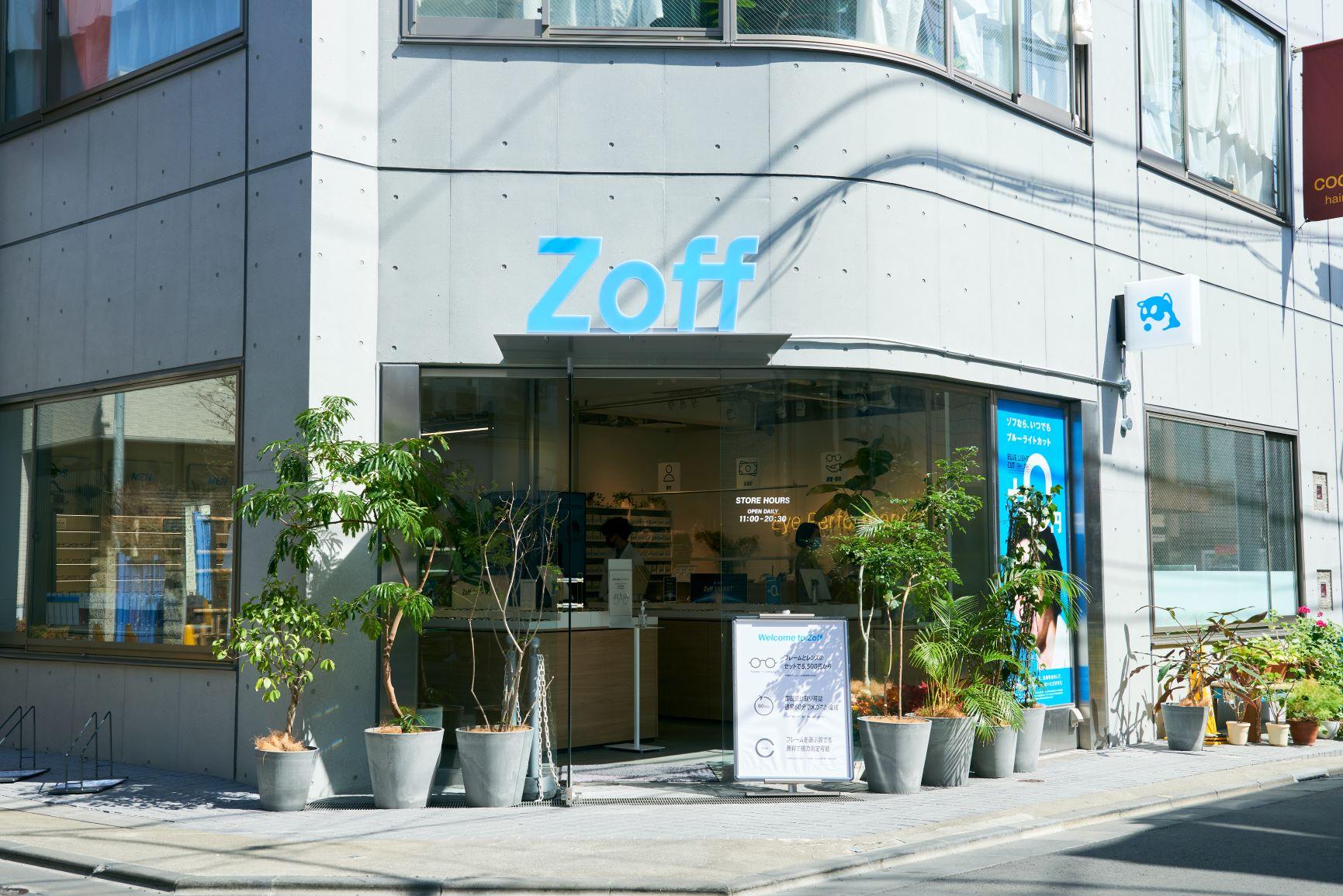 1号店「Zoff 下北沢店」がリニューアルオープン!